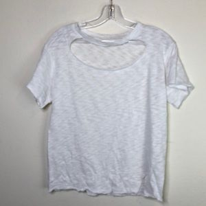 3/$45 White LNA Smiths T Cut out T-shirt